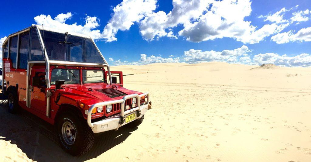 Sand Dune Adventures - Hummer Tours